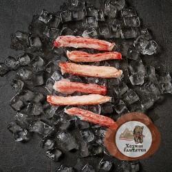 Мясо Камчатского краба 1-я фаланга крупная (брикет), 0.5 кг