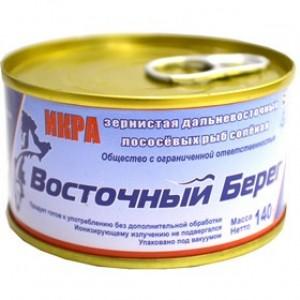 Икра Горбуши  Ж,Б (слабосолёная), 140 гр.