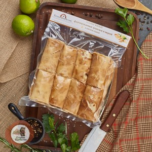 Блинчики из Форели и Нерки с сыром, 0.4 кг.