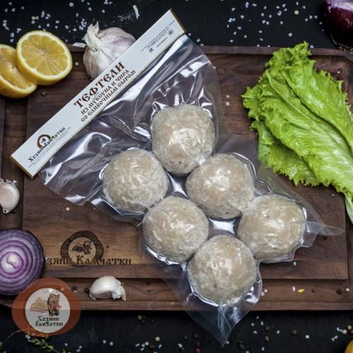 Тефтели из Муксуна и Чира со сливочным сыром, 0.5 кг.