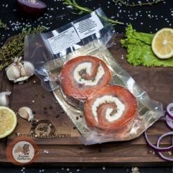 Рулетики из форели и щуки (со сливочным сыром), 500г