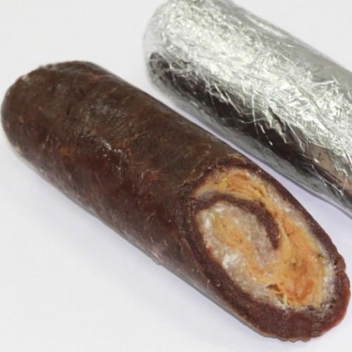 Рулет из оленины со Свининой и Яблоком, 0.5кг