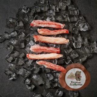 Мясо Камчатского краба 1-я фаланга средняя (брикет), 0.5 кг