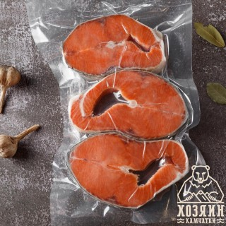 Кета стейк св.м (вакуум), 1 кг
