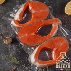 Кижуч стейк св.м., 1 кг.