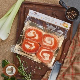 Рулетики из Форели (с сыром и креветками) 0.5 кг.