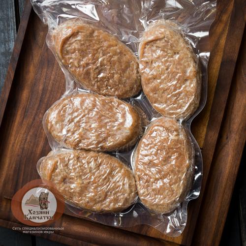 КОТЛЕТЫ ЛОСОСЕВЫЕ из Камчатской ЧАВЫЧИ, 0.5 кг