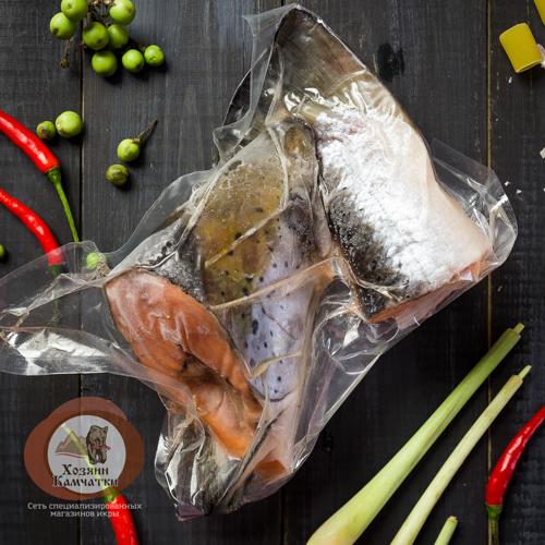 Набор для Ухи из лососевых (Головы) св.м (вакуум), 1 кг, 1 кг