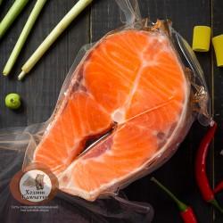 Форель стейк св.м (вакуум), 1 кг.