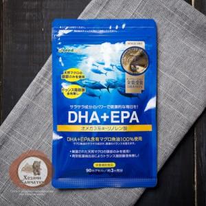 Омега-3 (DHA+EPA) Здоровые сосуды и кожа. (Япония)