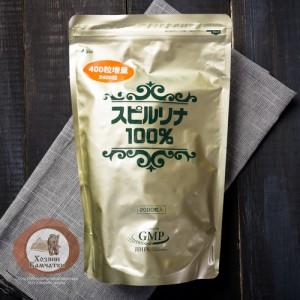 """Спирулина голд """" Здоровье ЖКТ и печени. (Япония)"""