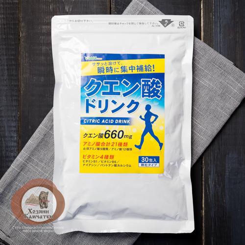 «Супер Н2О+» Спортивный бодрящий напиток мгновенного усвоения. (Япония)