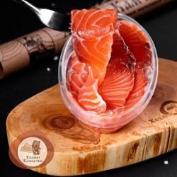 Филе форели (нарезка из охлажденного сырья), 220 гр
