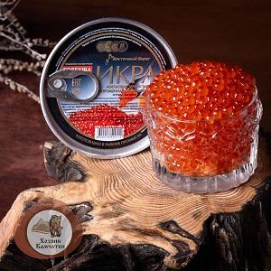 Икра горбуши сл/с (замороженная, без консервантов, вакуум), 200 г.