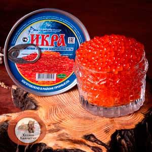Икра Кеты сл/с (замороженная, без консервантов, вакуум), 200 г.