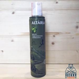 Масло-спрей подсолнечно-оливковое рафинированное, 250 мл.