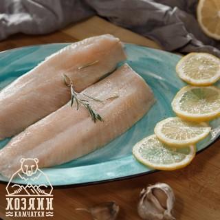 Сельдь Тихоокеанская филе малосоленое без кожи, 500 гр.