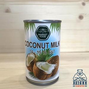 Жидкое кокосовое молоко Market Food, 165 мл.