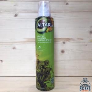 Масло-спрей авокадо-подсолнечное нерафинированное, 250 мл.