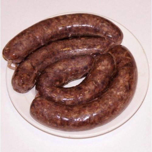 """Колбаски для жарки из оленины """"Пикантные"""", с/м, в/у 4 шт/0,6кг"""