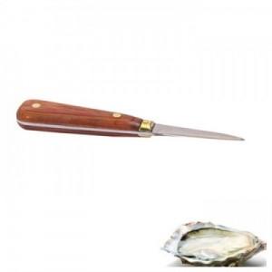 Устричный нож с деревянной ручкой, 1 шт